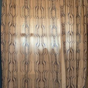 Eclipse Braxton 2 Panel Curtains 84'